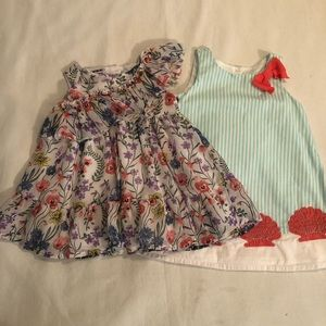 Toddler dresses .. size 6-12 month